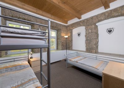 Jizerské hory ubytování penzion Solaris - apartmán č.2 ložnice