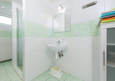 Jizerské hory ubytování penzion Solaris - apartmán č.2 koupelna