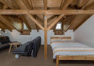 Jizerské hory ubytování penzion Solaris - apartmán č.4 obývací pokoj