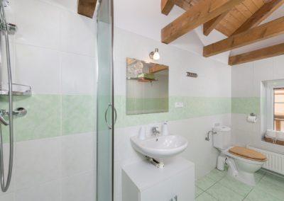 Jizerské hory ubytování penzion Solaris - apartmán č.4 koupelna