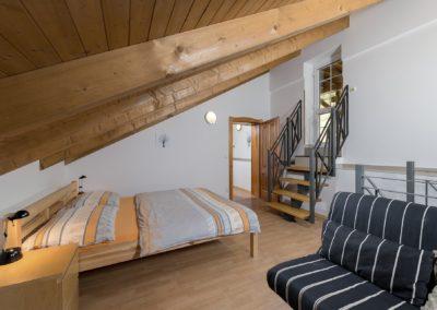 Jizerské hory ubytování penzion Solaris - apartmán č.5 obývací pokoj