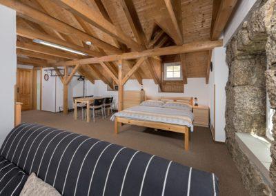 Jizerské hory ubytování penzion Solaris - apartmán č.3 obývací pokoj