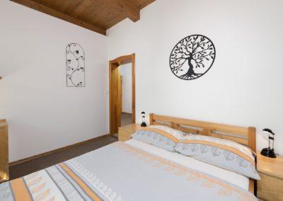 Jizerské hory ubytování penzion Solaris - apartmán č.1 ložnice