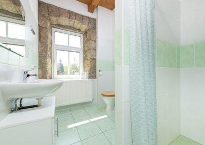 Jizerské hory ubytování penzion Solaris - apartmán č.1 koupelna