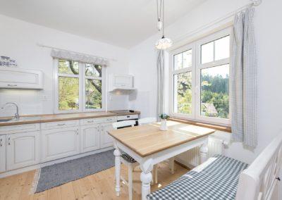 Jizerské hory ubytování penzion Solaris - apartmán č.7 Baráček, kuchyně