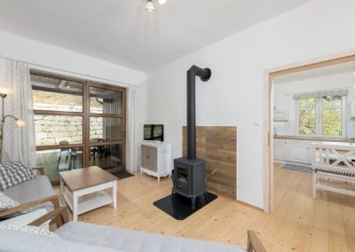 Jizerské hory ubytování penzion Solaris - apartmán č.7 Baráček, obývací pokoj