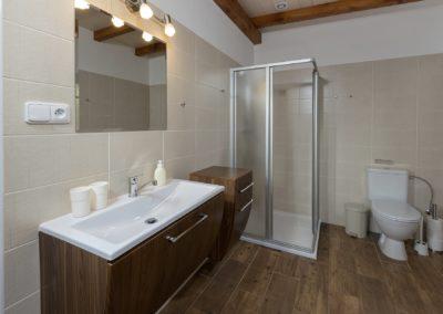 Jizerské hory ubytování penzion Solaris - apartmán č.7 Baráček, koupelna