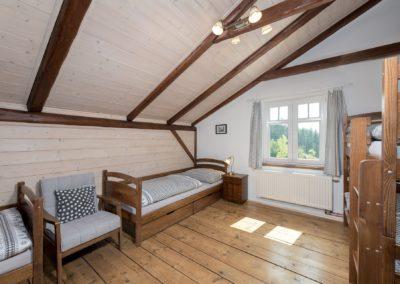 Jizerské hory ubytování penzion Solaris - apartmán č.7 Baráček, 2. ložnice