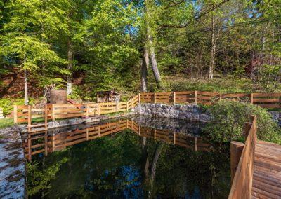 Jizerské hory ubytování penzion Solaris – zahrada
