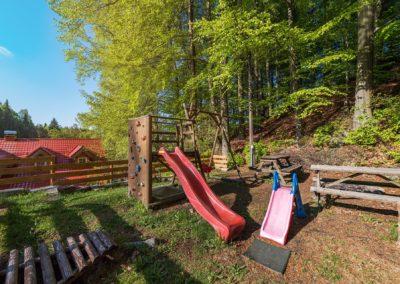 Jizerské hory ubytování penzion Solaris – dětské hřiště
