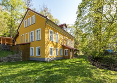 Jizerské hory ubytování penzion Solaris - apartmán č.6 v přízemí