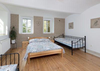 Jizerské hory ubytování penzion Solaris - apartmán č.6 ložnice