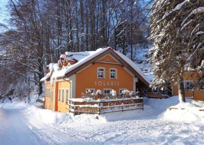 Jizerské hory ubytování penzion Solaris – hlavní areál