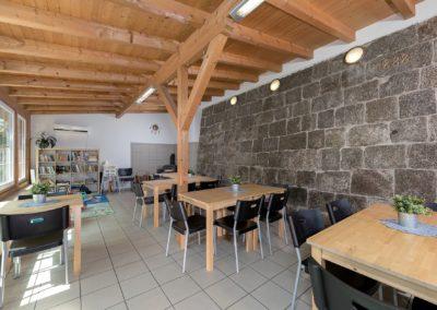 Jizerské hory ubytování penzion Solaris – společenská místnost a dětský koutek